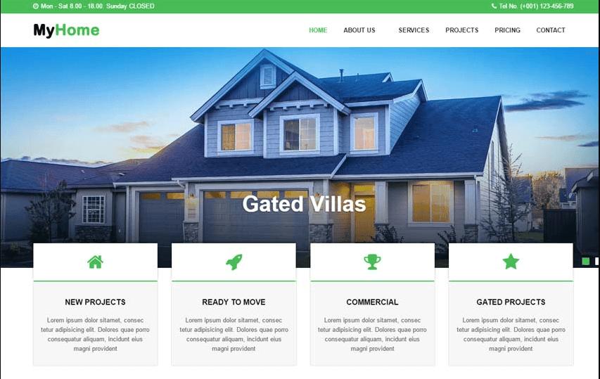 Vì sao cần thiết kế web bất động sản