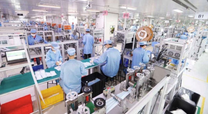 Môi trường sản xuất trang thiết bị y tế