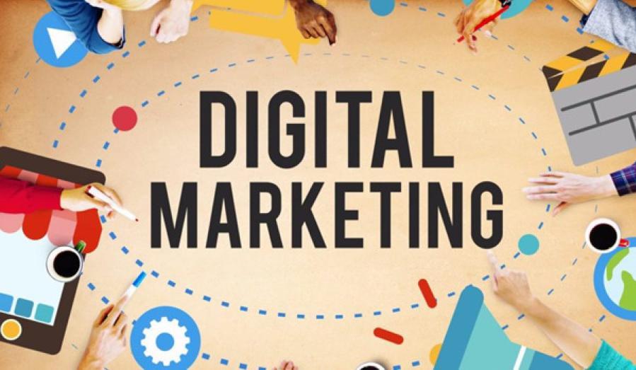 sử dụng các kênh digital marketing Bất động sản
