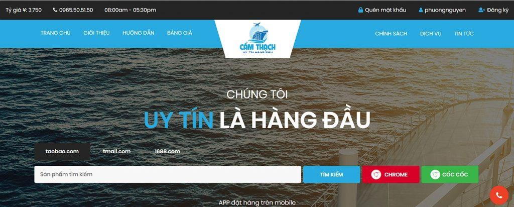 Công ty nhập hàng Trung Quốc Cẩm Thạch Company