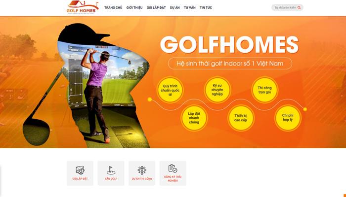 Công ty thi công sân tập golf - Golf Homes Group